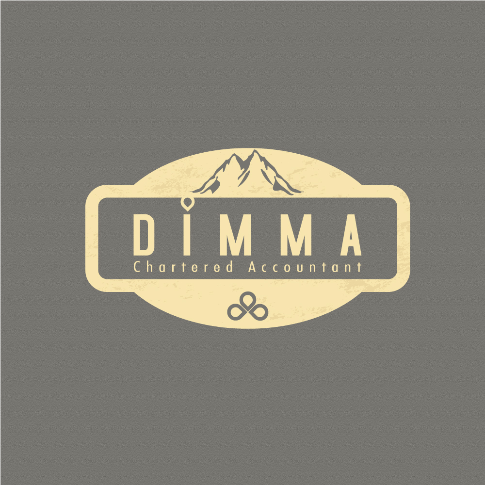 Logo Design by rockin - Entry No. 69 in the Logo Design Contest Creative Logo Design for Dimma Chartered Accountant.
