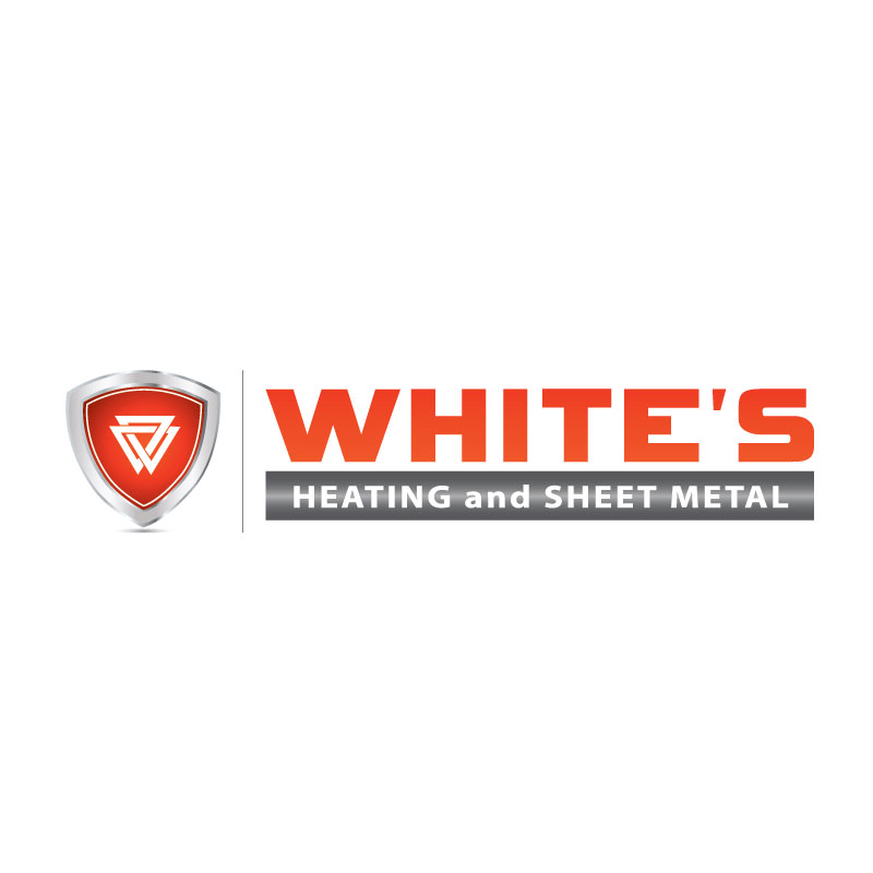 Logo Design by Igor Kuzmanic - Entry No. 123 in the Logo Design Contest Imaginative Logo Design for White's Heating and Sheet Metal.