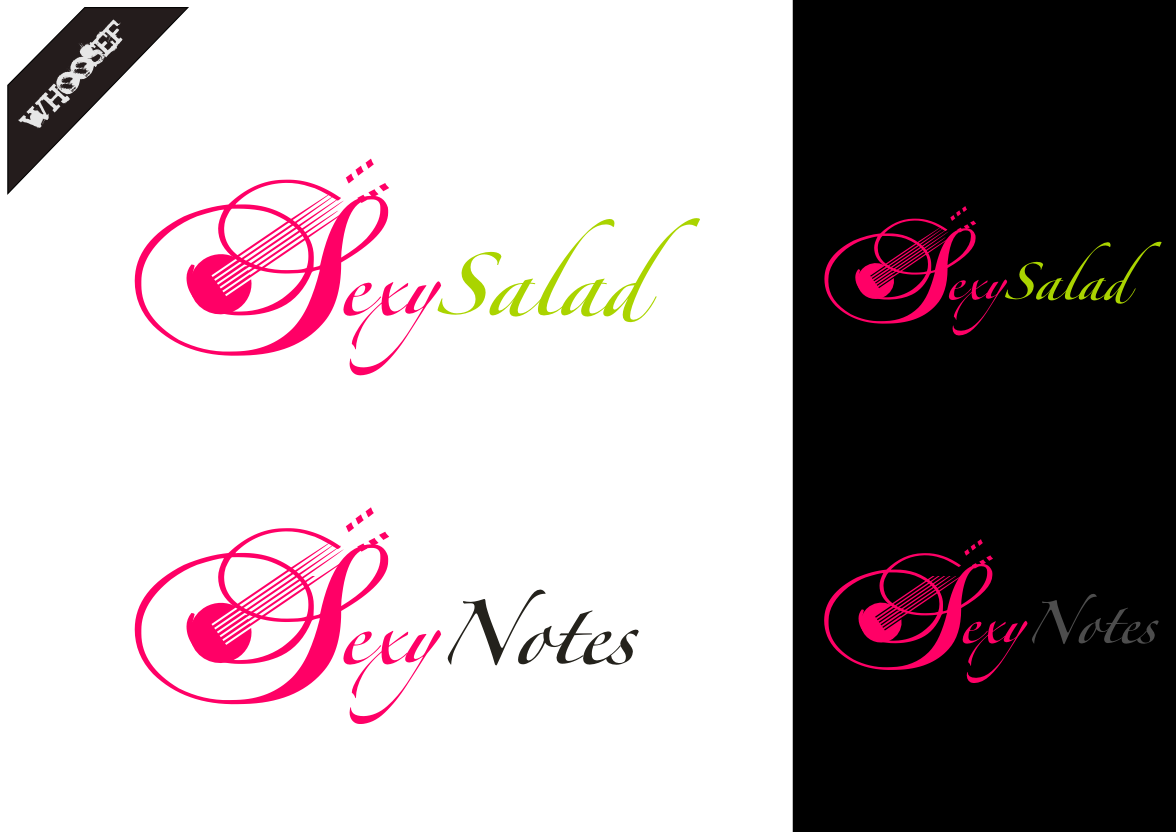 Logo Design by whoosef - Entry No. 58 in the Logo Design Contest Artistic Logo Design for Sexy Salad Inc..
