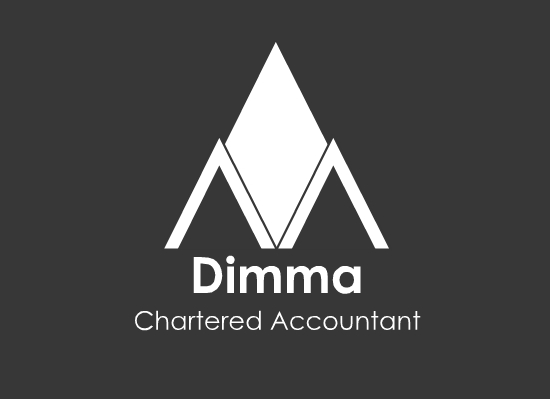 Logo Design by Ismail Adhi Wibowo - Entry No. 70 in the Logo Design Contest Creative Logo Design for Dimma Chartered Accountant.