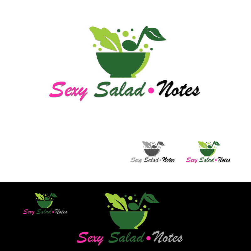 Logo Design by Private User - Entry No. 63 in the Logo Design Contest Artistic Logo Design for Sexy Salad Inc..