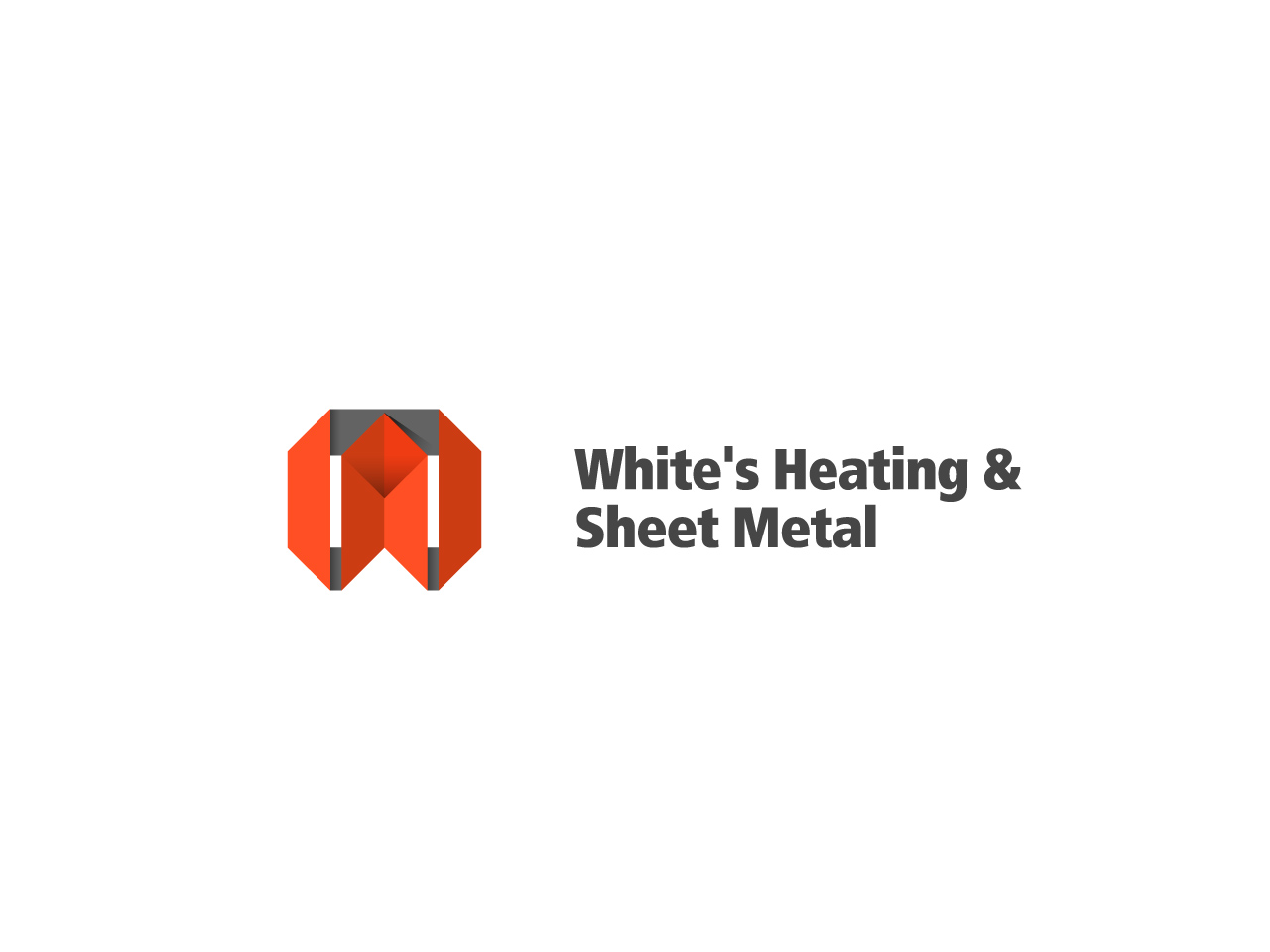 Logo Design by jpbituin - Entry No. 128 in the Logo Design Contest Imaginative Logo Design for White's Heating and Sheet Metal.