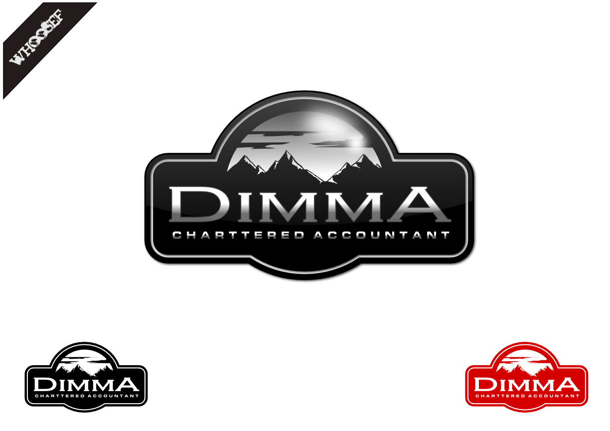 Logo Design by whoosef - Entry No. 78 in the Logo Design Contest Creative Logo Design for Dimma Chartered Accountant.