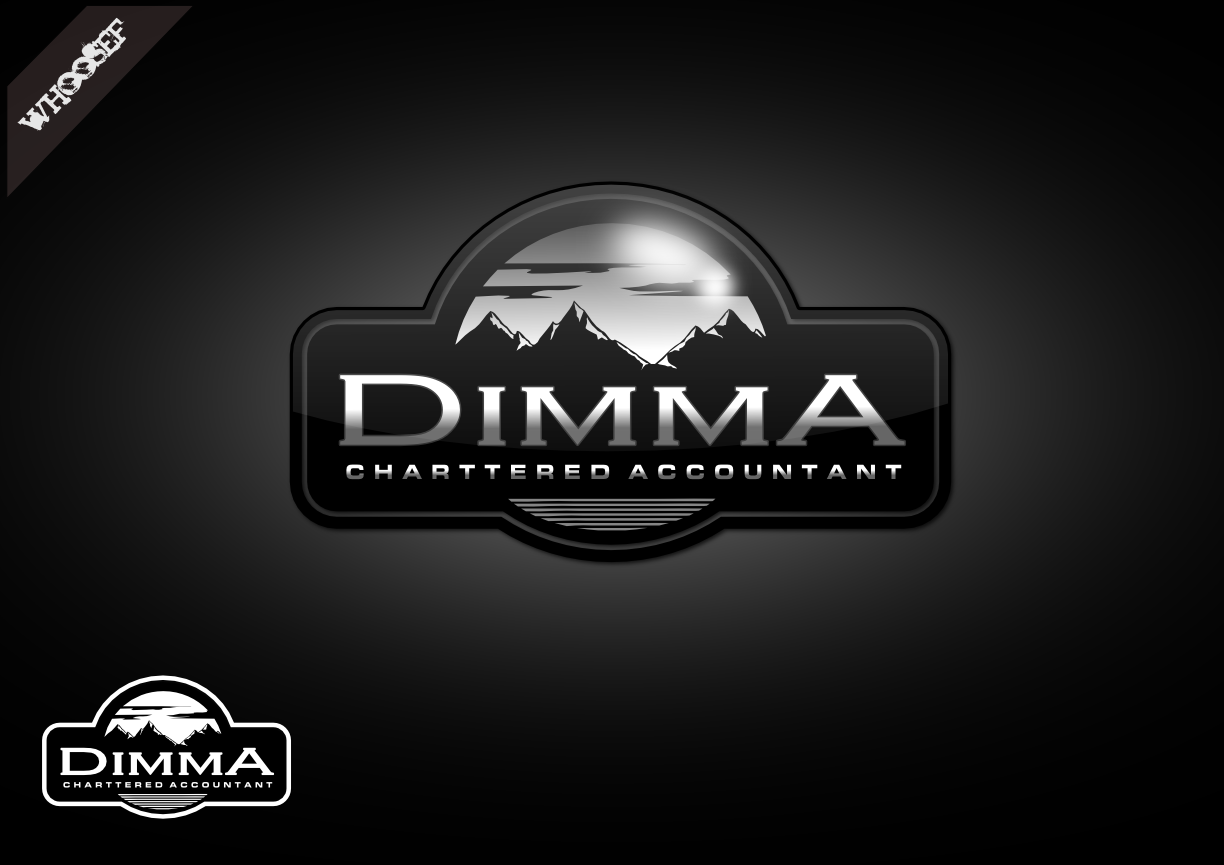 Logo Design by whoosef - Entry No. 79 in the Logo Design Contest Creative Logo Design for Dimma Chartered Accountant.