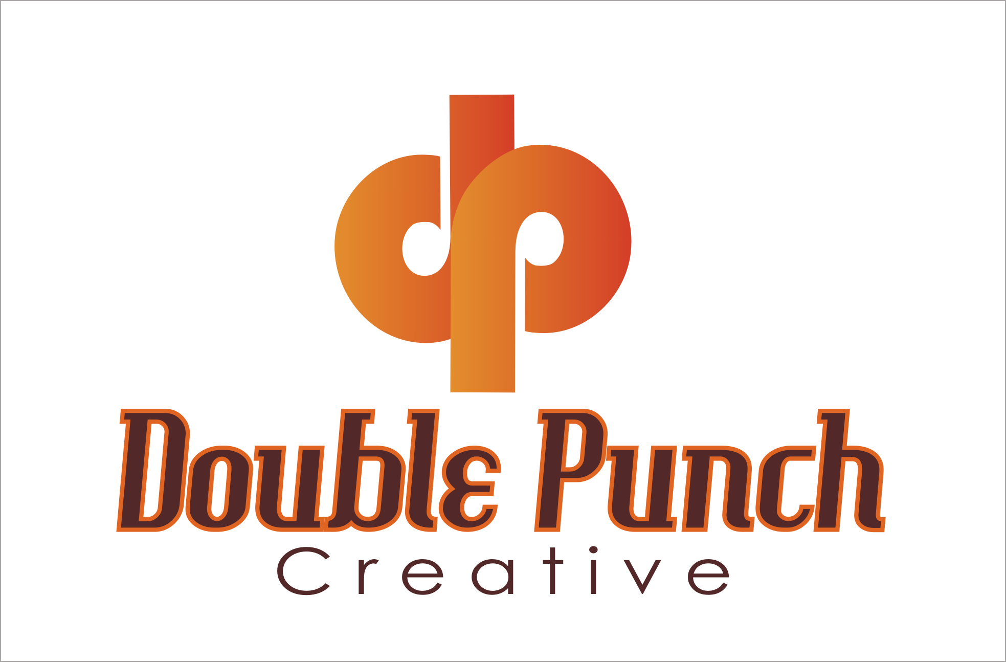 Logo Design by Aveeb Murdavein - Entry No. 32 in the Logo Design Contest Unique Logo Design Wanted for Double Punch Creative.