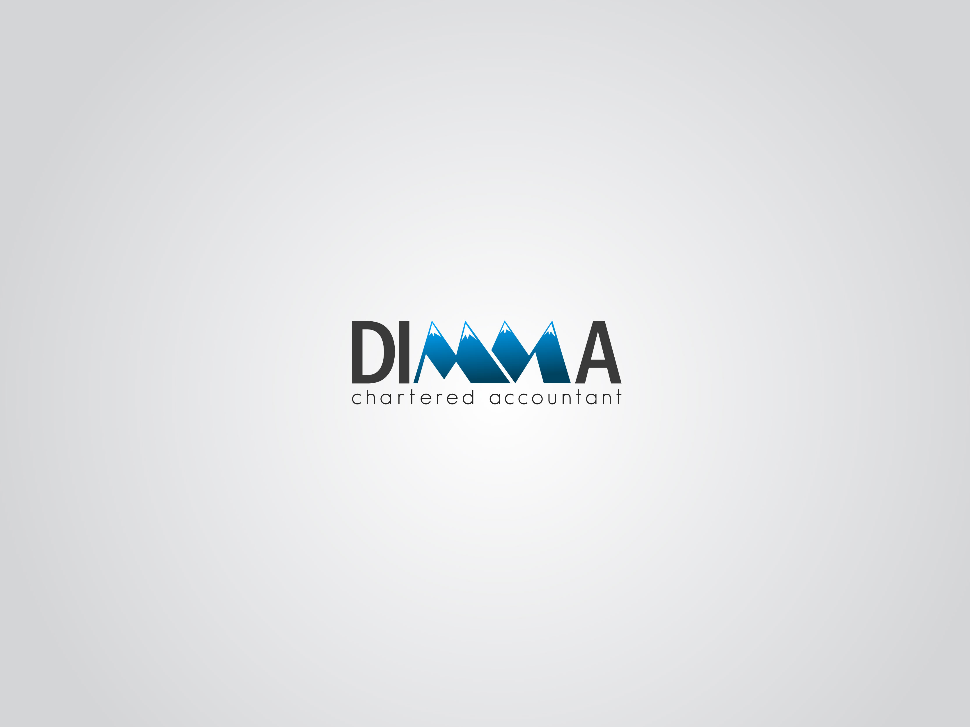 Logo Design by Osi Indra - Entry No. 80 in the Logo Design Contest Creative Logo Design for Dimma Chartered Accountant.