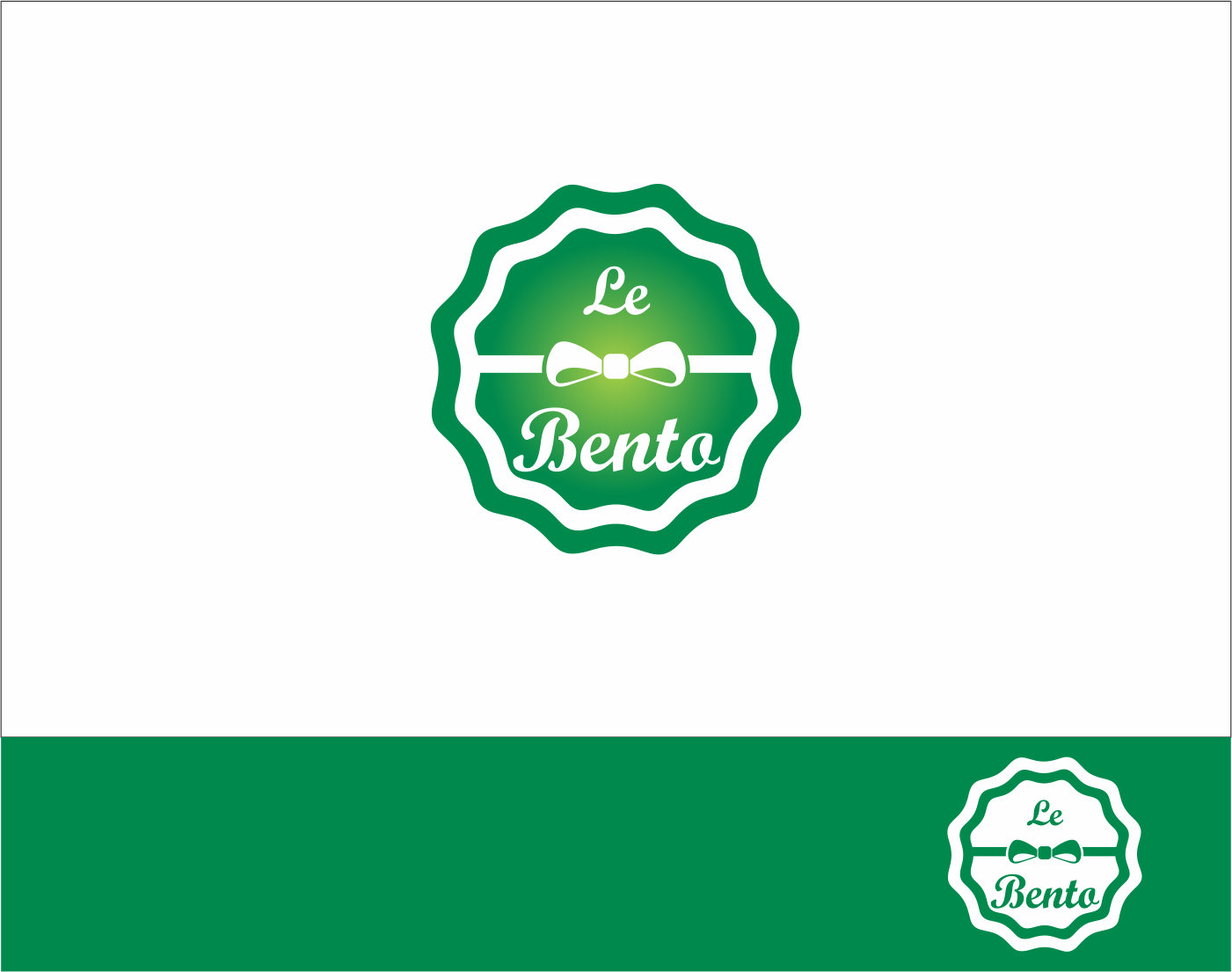 Logo Design by Armada Jamaluddin - Entry No. 69 in the Logo Design Contest Captivating Logo Design for Le Bento.
