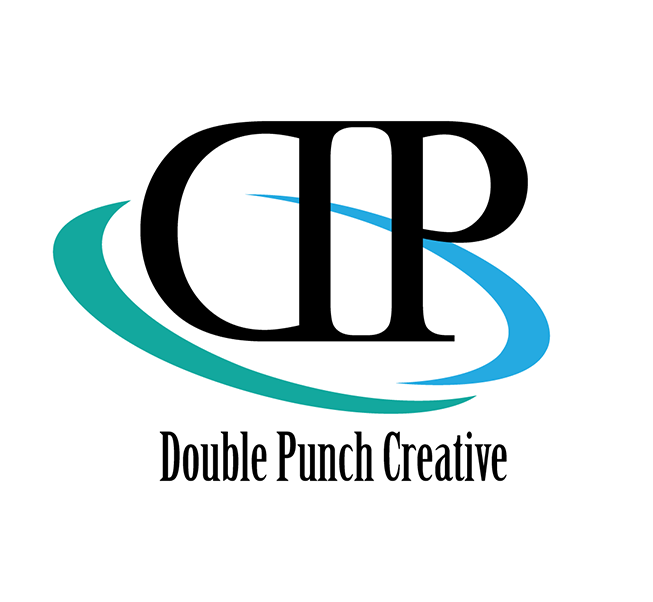 Logo Design by robken0174 - Entry No. 33 in the Logo Design Contest Unique Logo Design Wanted for Double Punch Creative.