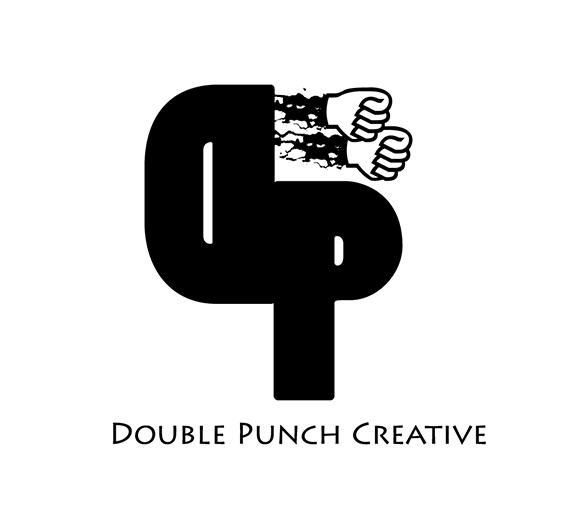 Logo Design by robken0174 - Entry No. 34 in the Logo Design Contest Unique Logo Design Wanted for Double Punch Creative.