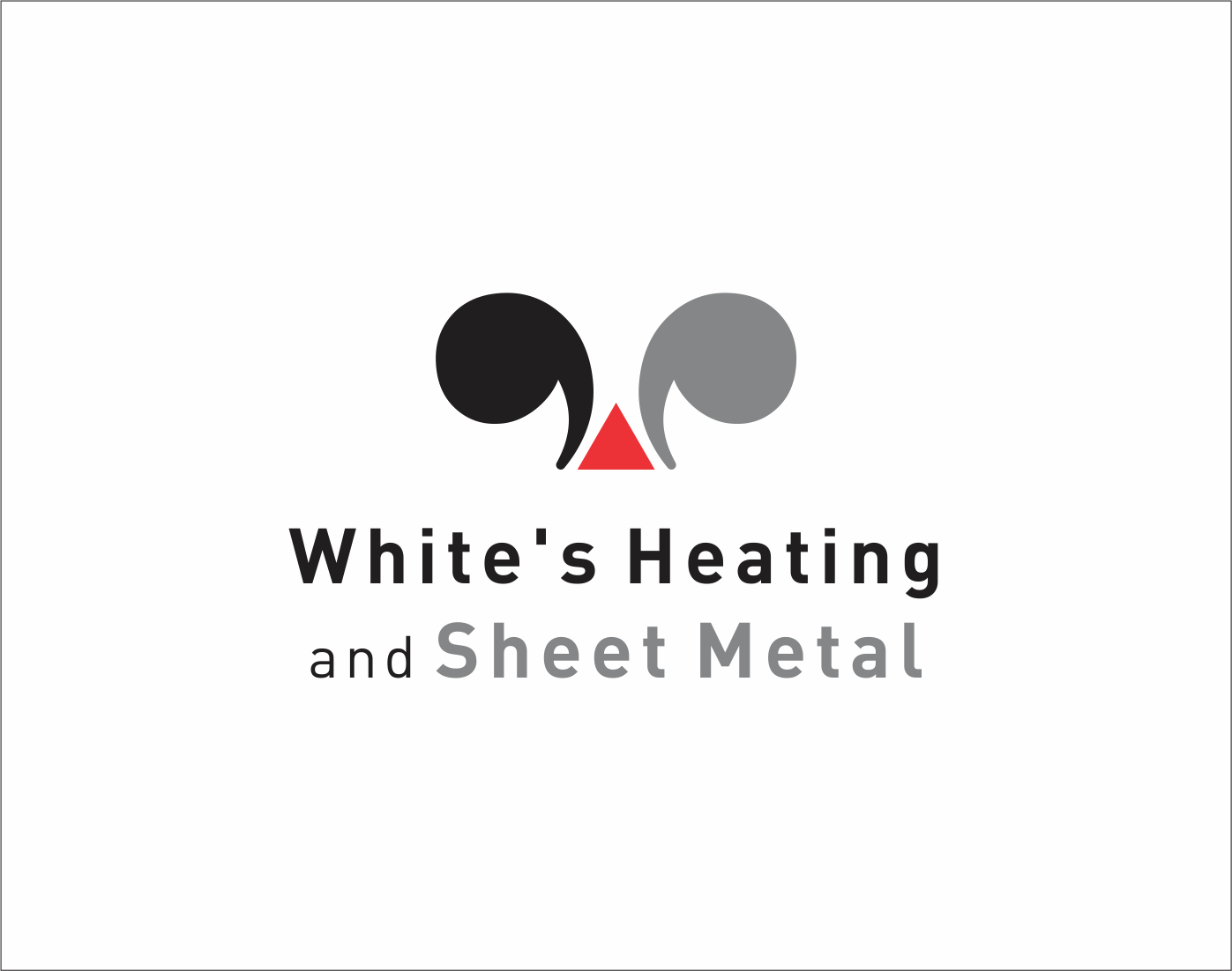 Logo Design by Armada Jamaluddin - Entry No. 133 in the Logo Design Contest Imaginative Logo Design for White's Heating and Sheet Metal.