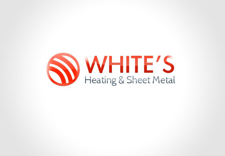 Logo Design by florinb - Entry No. 136 in the Logo Design Contest Imaginative Logo Design for White's Heating and Sheet Metal.