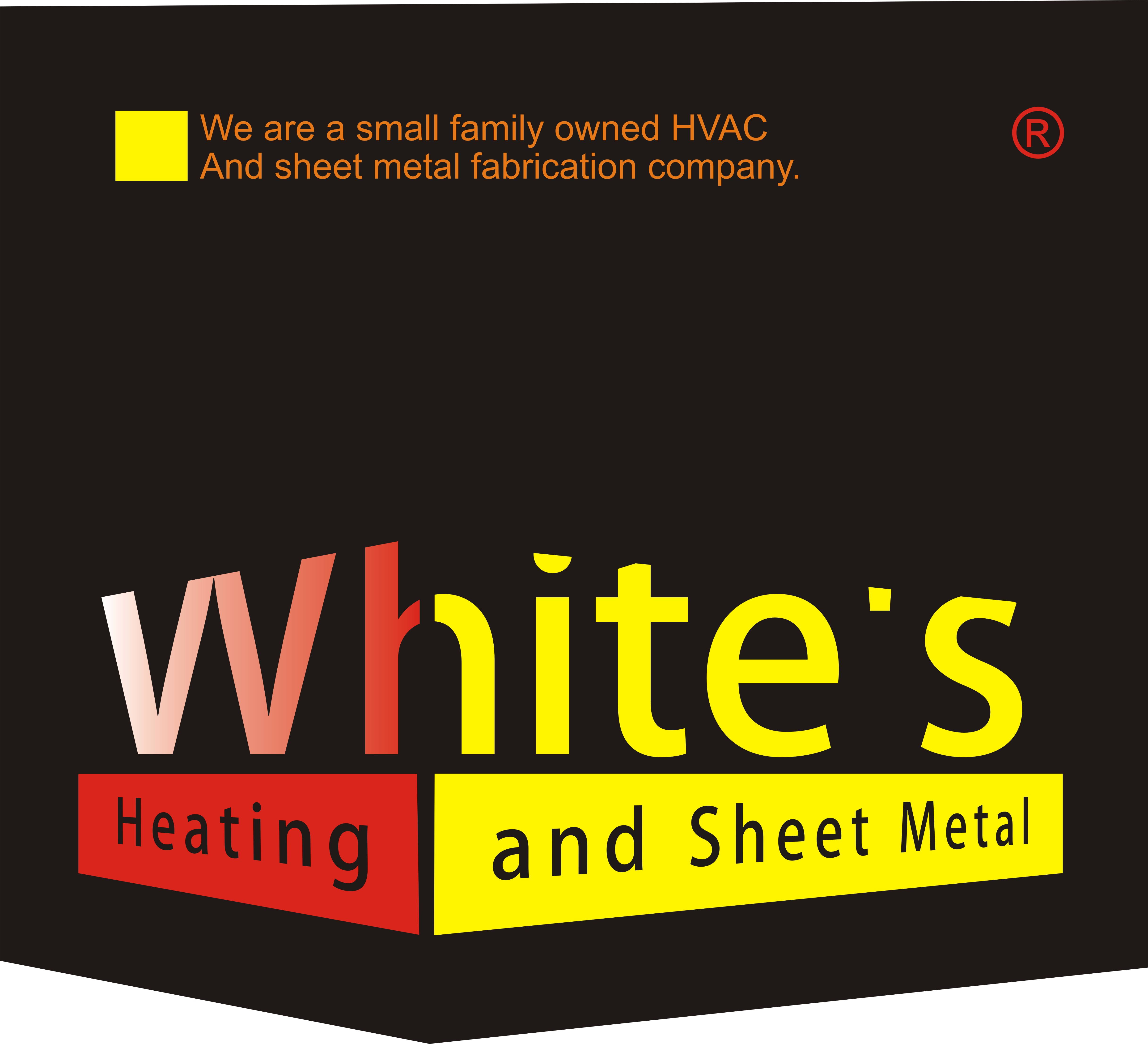 Logo Design by Eic Limber - Entry No. 138 in the Logo Design Contest Imaginative Logo Design for White's Heating and Sheet Metal.