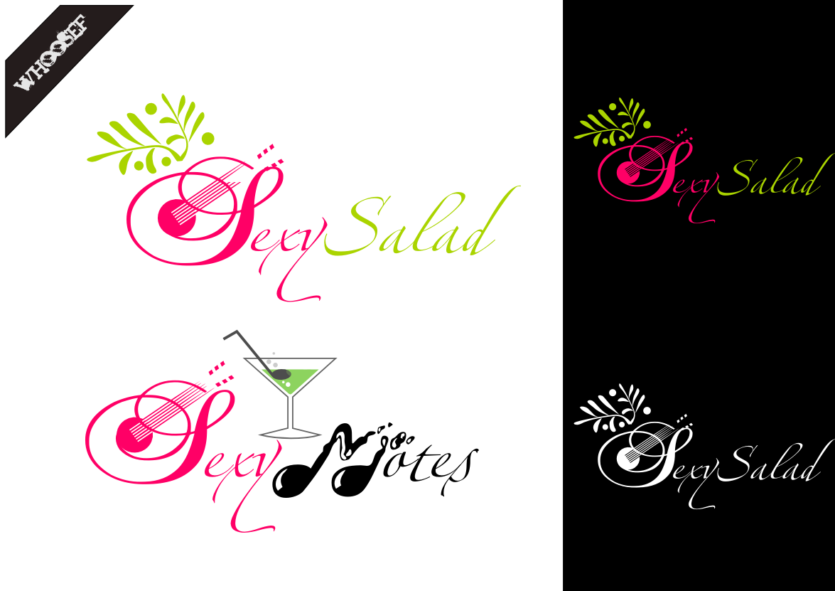 Logo Design by whoosef - Entry No. 79 in the Logo Design Contest Artistic Logo Design for Sexy Salad Inc..