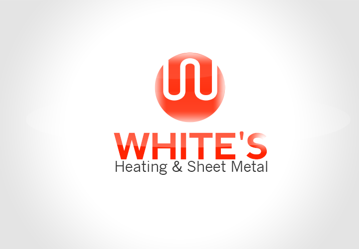 Logo Design by florinb - Entry No. 147 in the Logo Design Contest Imaginative Logo Design for White's Heating and Sheet Metal.