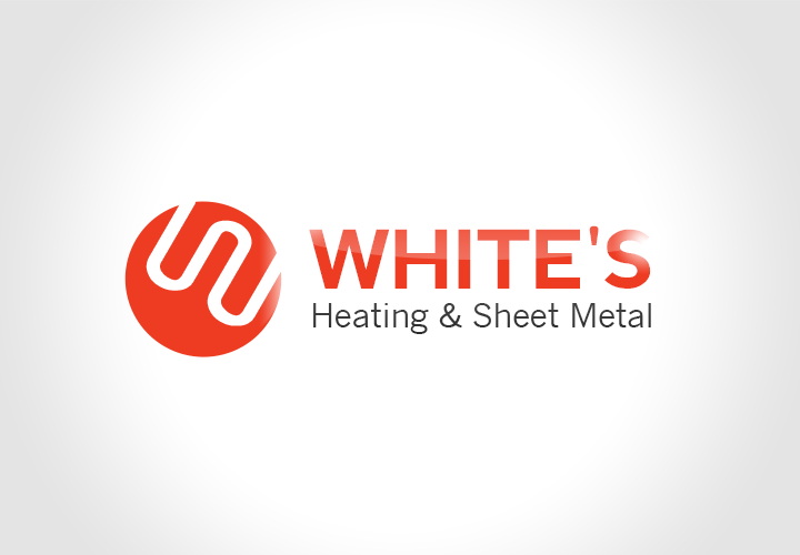Logo Design by florinb - Entry No. 148 in the Logo Design Contest Imaginative Logo Design for White's Heating and Sheet Metal.