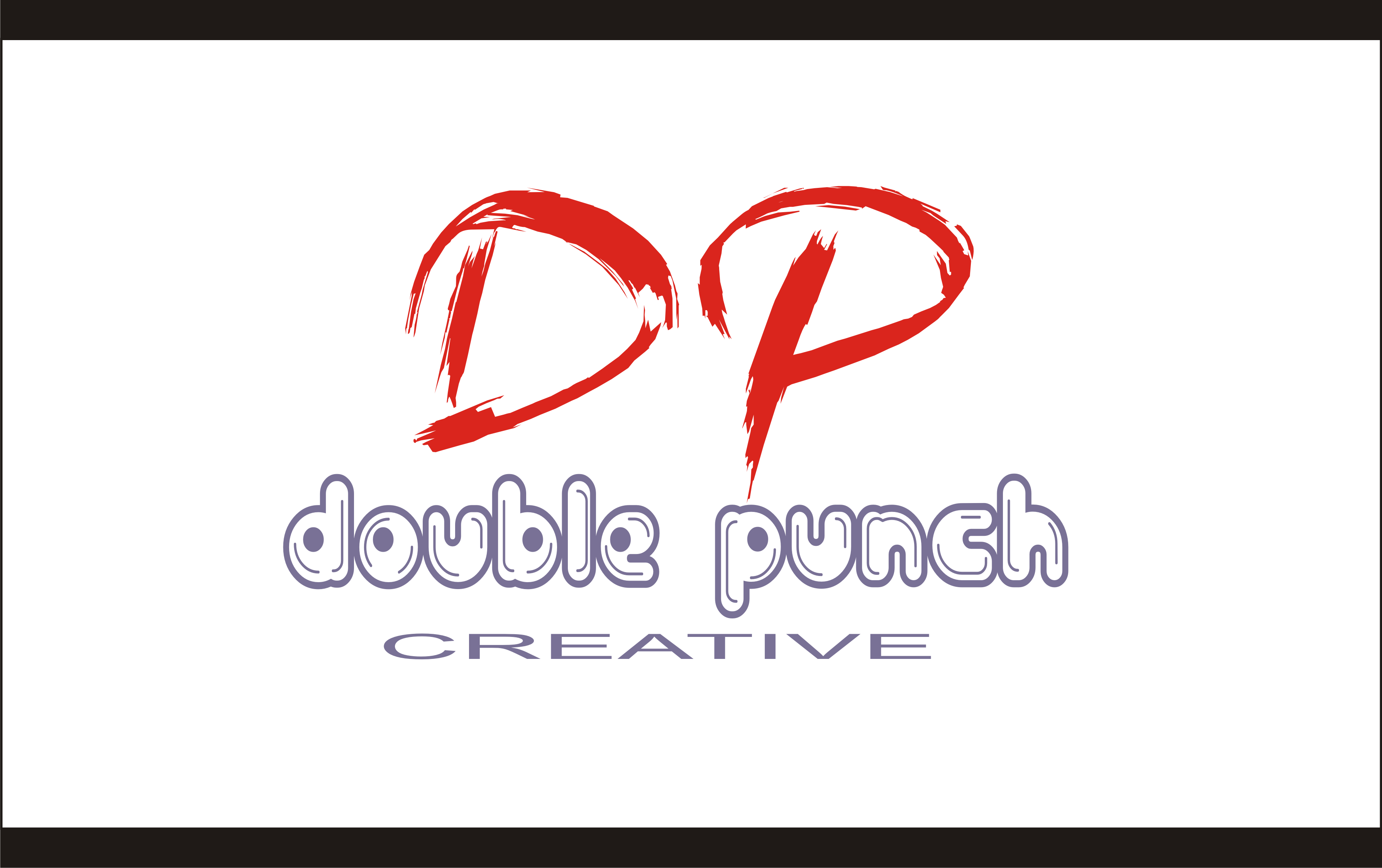 Logo Design by Shailender Kumar - Entry No. 43 in the Logo Design Contest Unique Logo Design Wanted for Double Punch Creative.