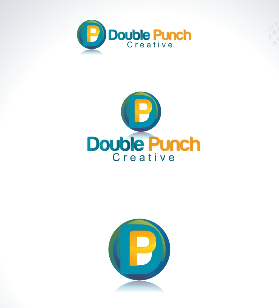 Logo Design by Private User - Entry No. 44 in the Logo Design Contest Unique Logo Design Wanted for Double Punch Creative.