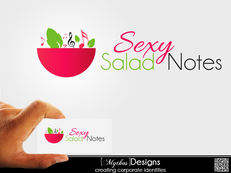 Logo Design by Mythos Designs - Entry No. 81 in the Logo Design Contest Artistic Logo Design for Sexy Salad Inc..