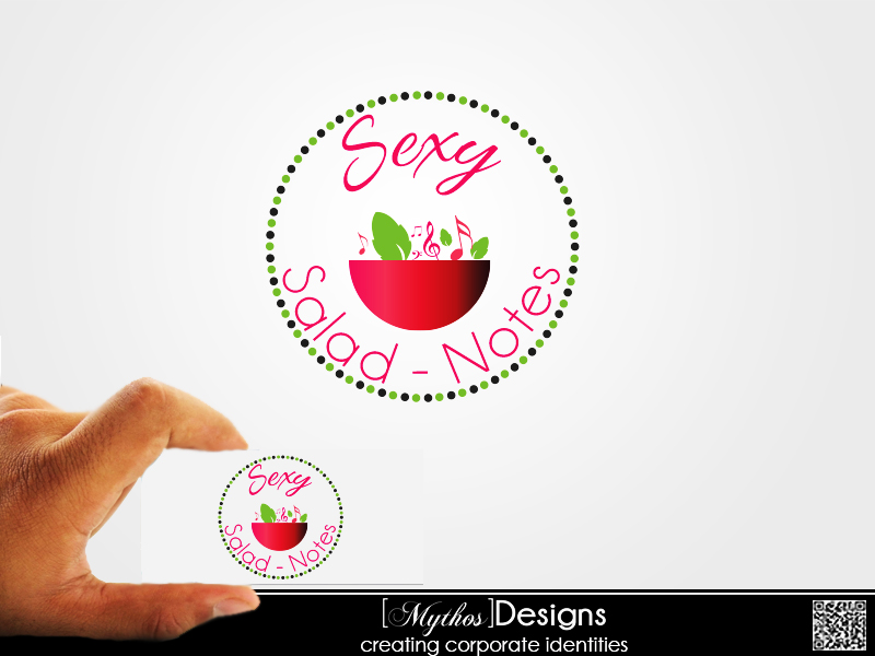 Logo Design by Mythos Designs - Entry No. 83 in the Logo Design Contest Artistic Logo Design for Sexy Salad Inc..