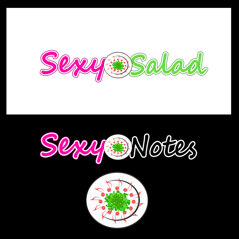 Logo Design by omARTist - Entry No. 87 in the Logo Design Contest Artistic Logo Design for Sexy Salad Inc..