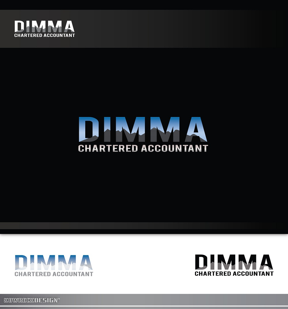 Logo Design by kowreck - Entry No. 85 in the Logo Design Contest Creative Logo Design for Dimma Chartered Accountant.