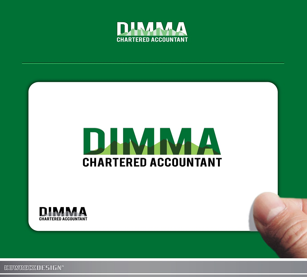 Logo Design by kowreck - Entry No. 86 in the Logo Design Contest Creative Logo Design for Dimma Chartered Accountant.
