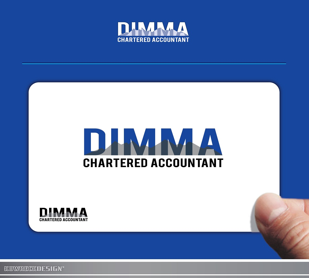 Logo Design by kowreck - Entry No. 87 in the Logo Design Contest Creative Logo Design for Dimma Chartered Accountant.