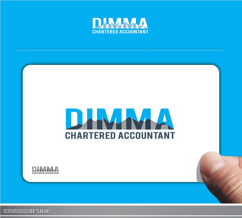 Logo Design by kowreck - Entry No. 88 in the Logo Design Contest Creative Logo Design for Dimma Chartered Accountant.