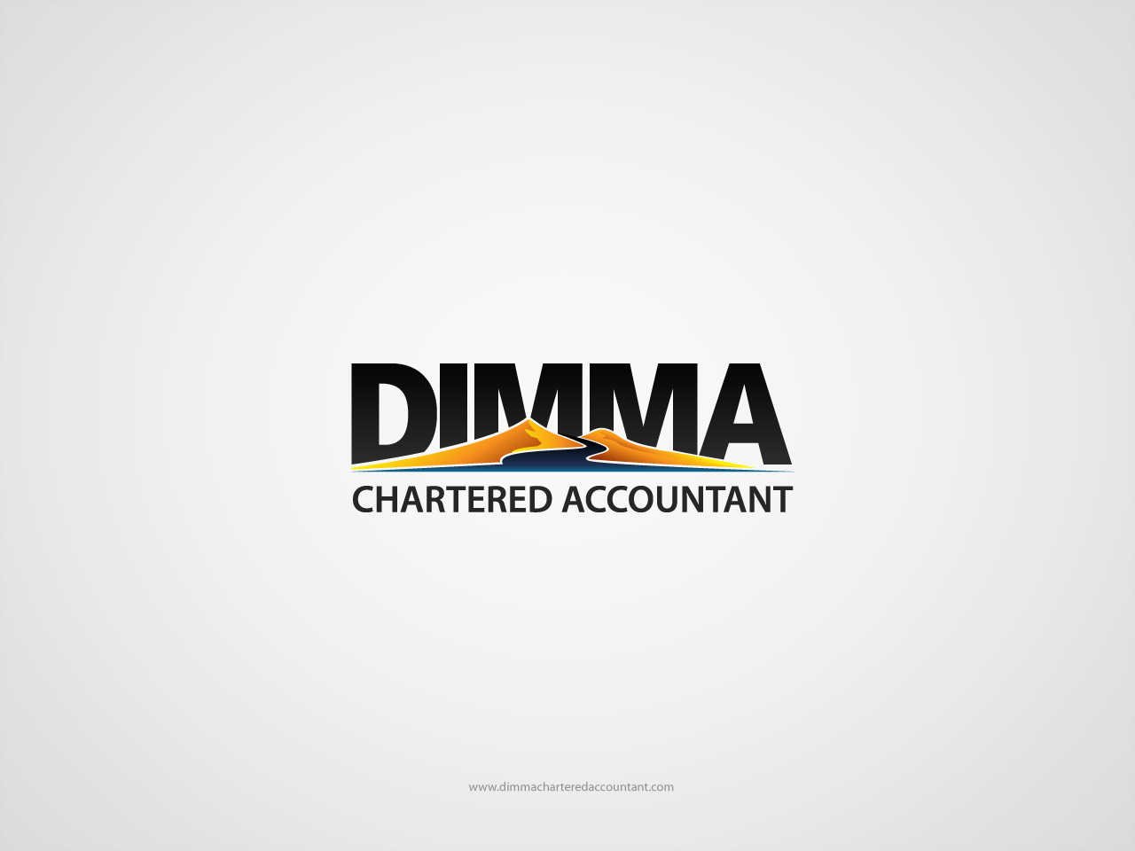 Logo Design by jpbituin - Entry No. 90 in the Logo Design Contest Creative Logo Design for Dimma Chartered Accountant.