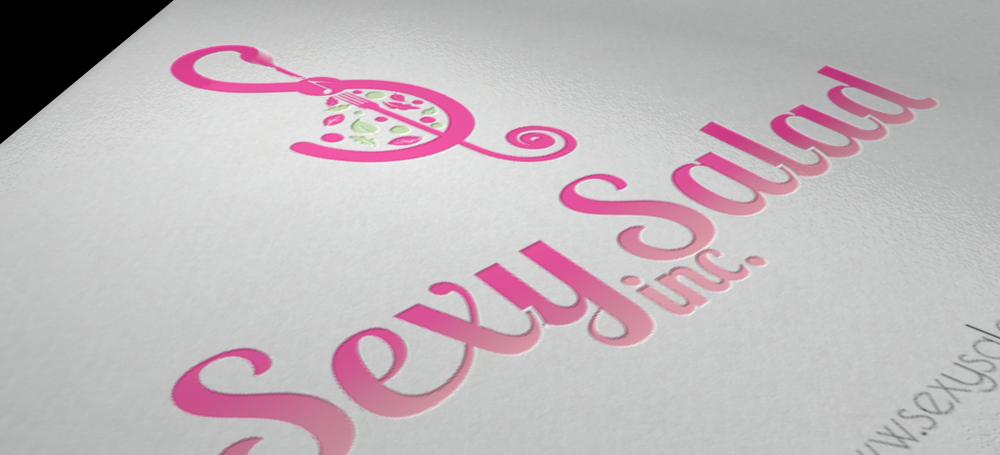 Logo Design by Private User - Entry No. 98 in the Logo Design Contest Artistic Logo Design for Sexy Salad Inc..