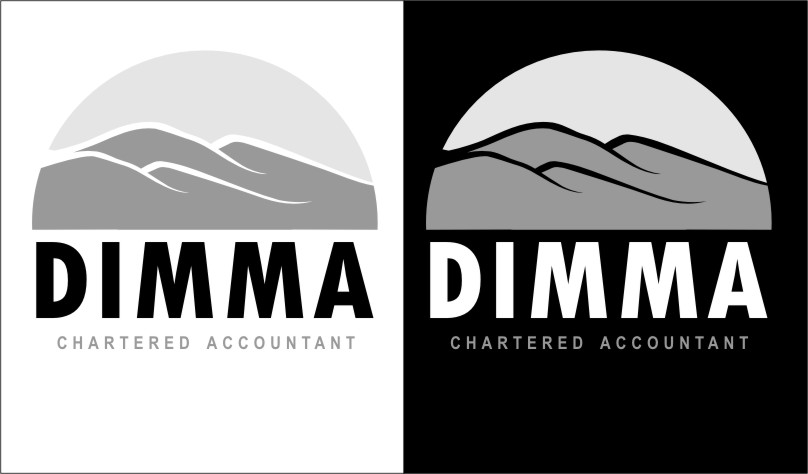 Logo Design by Ngepet_art - Entry No. 92 in the Logo Design Contest Creative Logo Design for Dimma Chartered Accountant.
