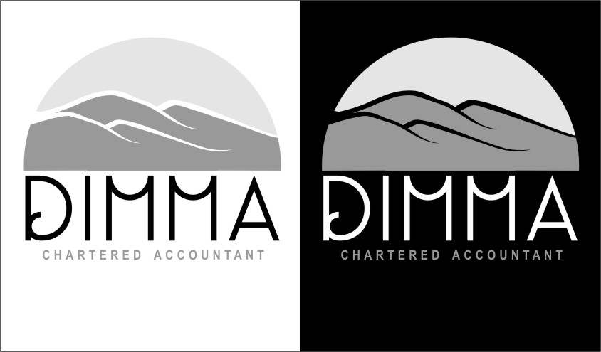 Logo Design by RasYa Muhammad Athaya - Entry No. 94 in the Logo Design Contest Creative Logo Design for Dimma Chartered Accountant.