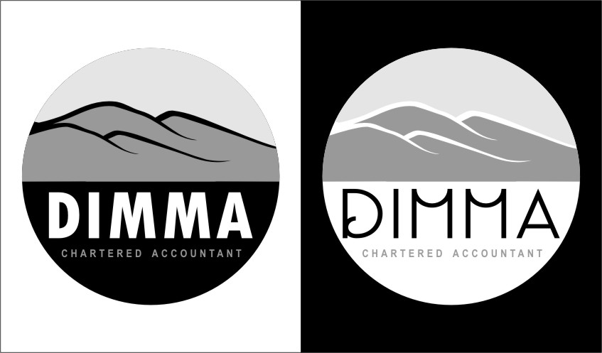 Logo Design by RoSyid Rono-Rene On Java - Entry No. 95 in the Logo Design Contest Creative Logo Design for Dimma Chartered Accountant.