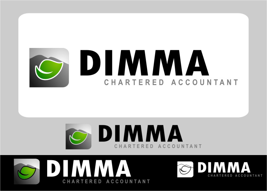 Logo Design by Ngepet_art - Entry No. 96 in the Logo Design Contest Creative Logo Design for Dimma Chartered Accountant.