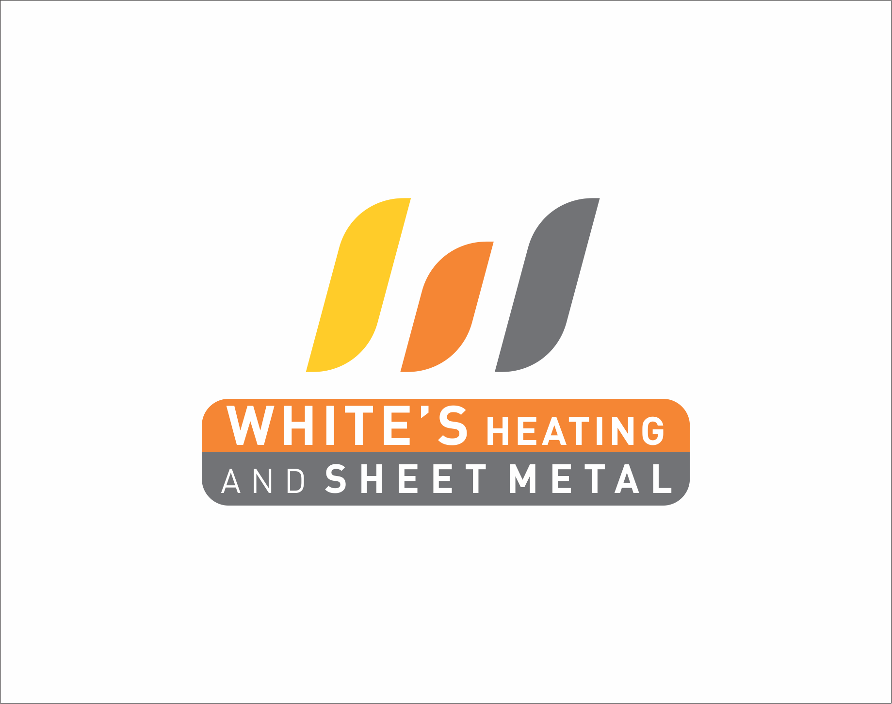 Logo Design by Armada Jamaluddin - Entry No. 167 in the Logo Design Contest Imaginative Logo Design for White's Heating and Sheet Metal.