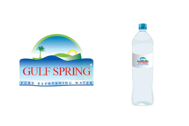 Logo Design by Digital Designs - Entry No. 2 in the Logo Design Contest Inspiring Logo Design for Gulf Spring.