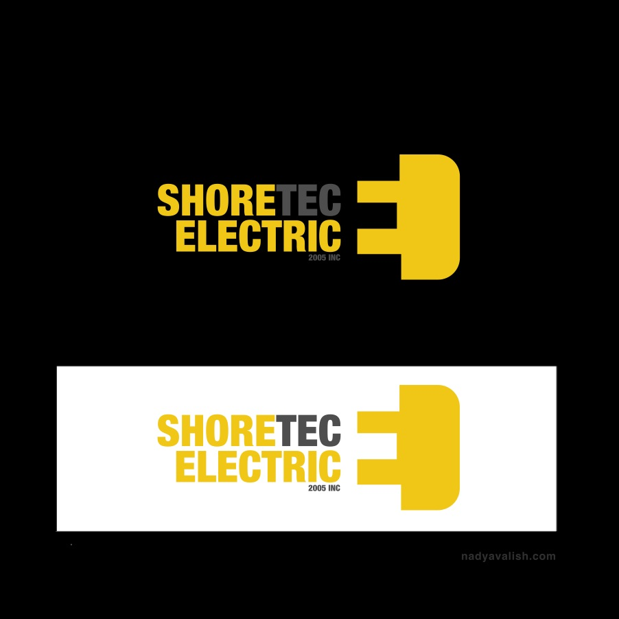 Logo Design by Branding - Entry No. 56 in the Logo Design Contest Shore Tec Electric 2005 Inc.