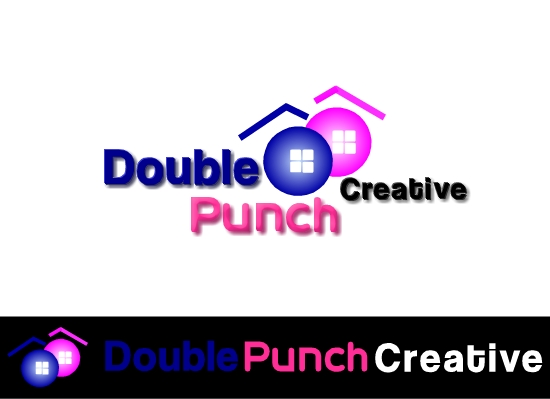 Logo Design by Ismail Adhi Wibowo - Entry No. 57 in the Logo Design Contest Unique Logo Design Wanted for Double Punch Creative.