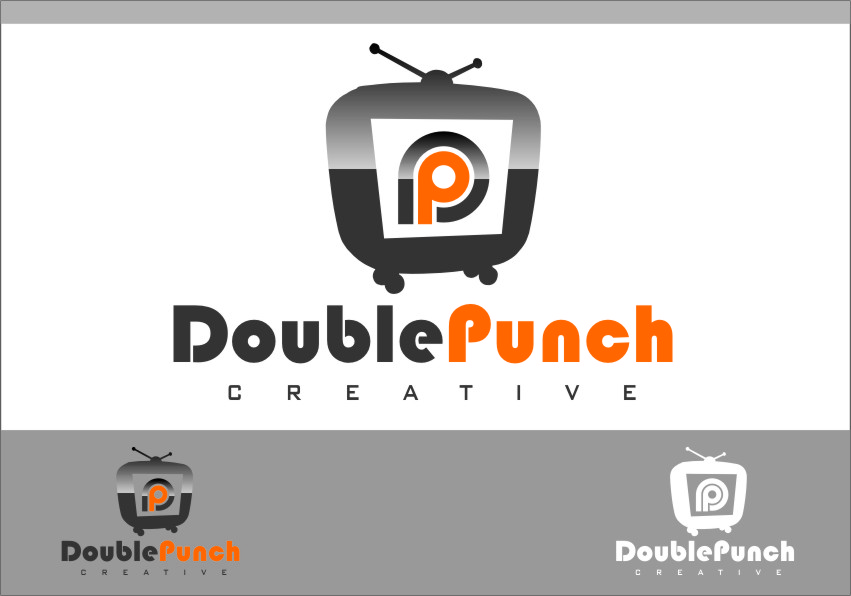 Logo Design by Ngepet_art - Entry No. 58 in the Logo Design Contest Unique Logo Design Wanted for Double Punch Creative.
