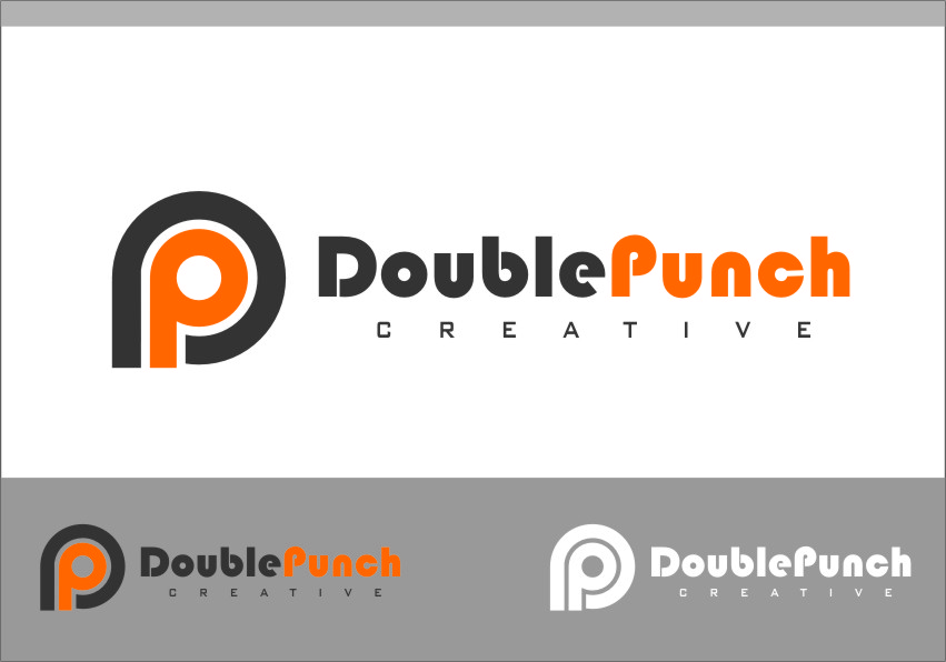 Logo Design by RasYa Muhammad Athaya - Entry No. 60 in the Logo Design Contest Unique Logo Design Wanted for Double Punch Creative.