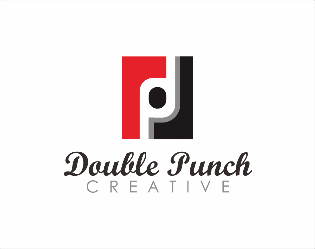 Logo Design by Armada Jamaluddin - Entry No. 61 in the Logo Design Contest Unique Logo Design Wanted for Double Punch Creative.