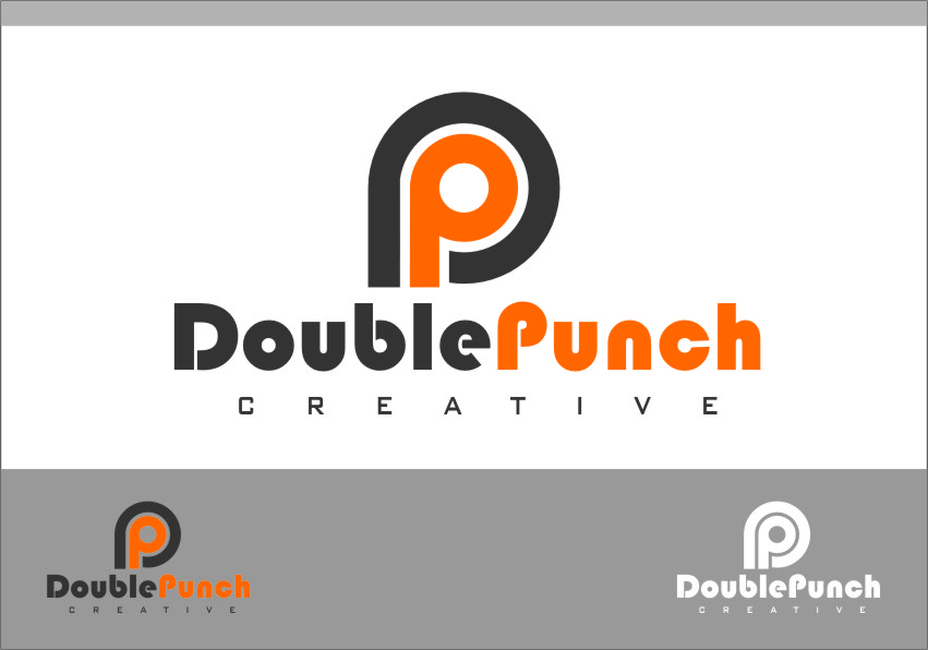 Logo Design by RasYa Muhammad Athaya - Entry No. 62 in the Logo Design Contest Unique Logo Design Wanted for Double Punch Creative.