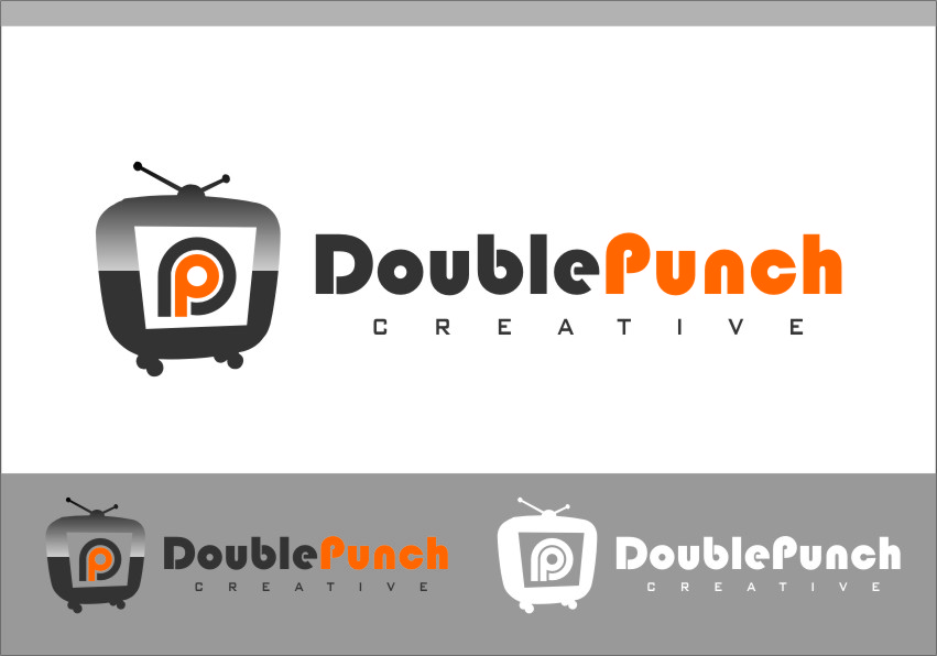 Logo Design by RasYa Muhammad Athaya - Entry No. 64 in the Logo Design Contest Unique Logo Design Wanted for Double Punch Creative.