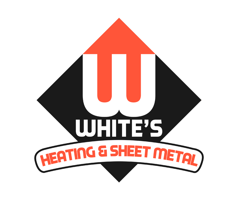 Logo Design by Private User - Entry No. 169 in the Logo Design Contest Imaginative Logo Design for White's Heating and Sheet Metal.