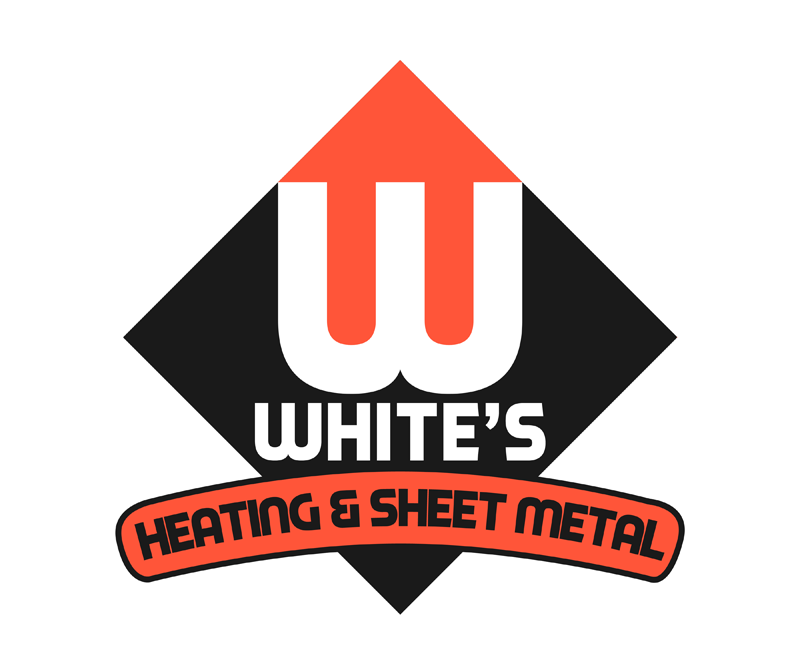 Logo Design by Private User - Entry No. 170 in the Logo Design Contest Imaginative Logo Design for White's Heating and Sheet Metal.