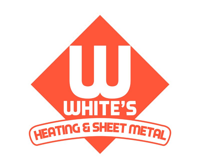 Logo Design by Robert Turla - Entry No. 173 in the Logo Design Contest Imaginative Logo Design for White's Heating and Sheet Metal.