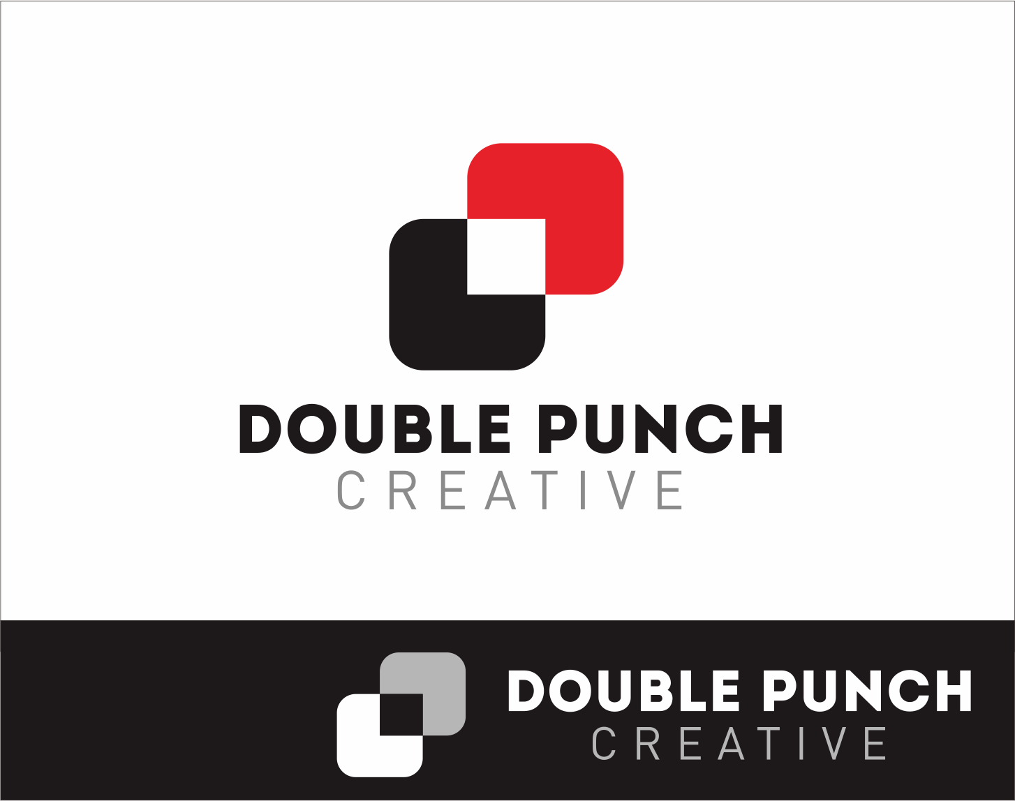 Logo Design by Armada Jamaluddin - Entry No. 66 in the Logo Design Contest Unique Logo Design Wanted for Double Punch Creative.