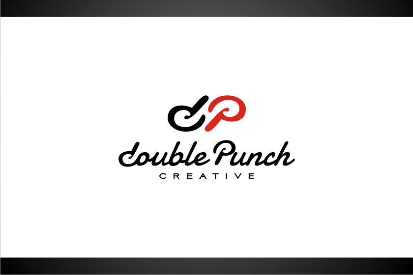 Logo Design by graphicleaf - Entry No. 67 in the Logo Design Contest Unique Logo Design Wanted for Double Punch Creative.