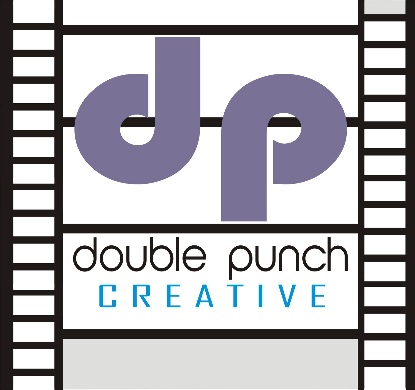 Logo Design by Shailender Kumar - Entry No. 70 in the Logo Design Contest Unique Logo Design Wanted for Double Punch Creative.
