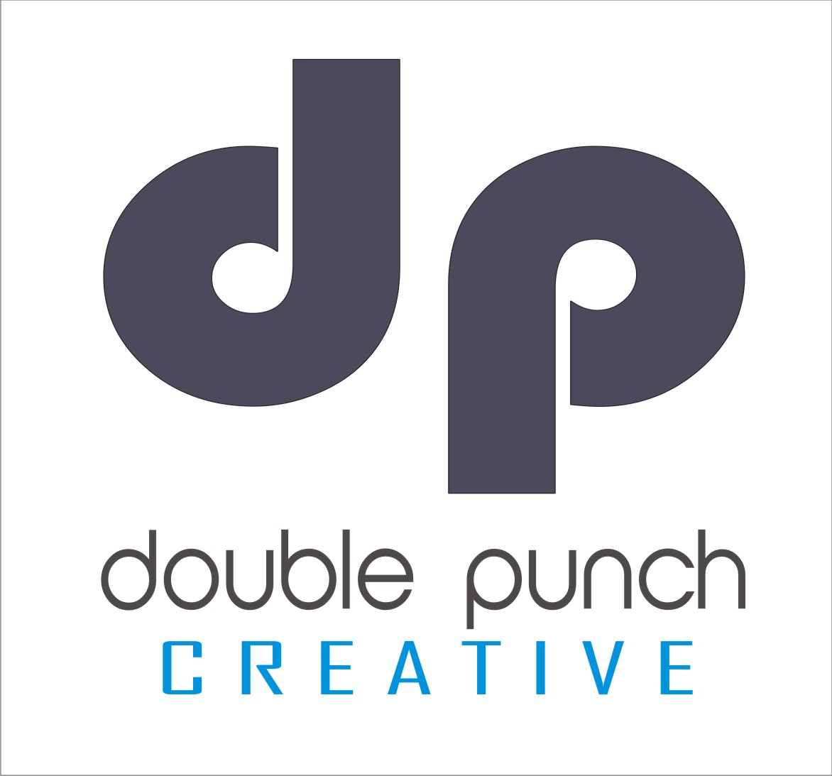 Logo Design by Shailender Kumar - Entry No. 71 in the Logo Design Contest Unique Logo Design Wanted for Double Punch Creative.
